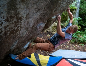 "Adam Wold on ""Sticky Icky"", Sawmill Creek Dome, MN"