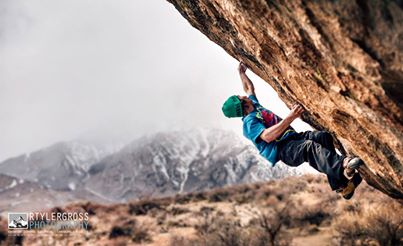Daniel Woods nabs 2nd ascent of Paul Robinson's Lucid Dreaming(V15) in the Buttermilks.